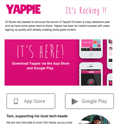 Yappie Newsletter