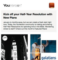 You Version Newsletter