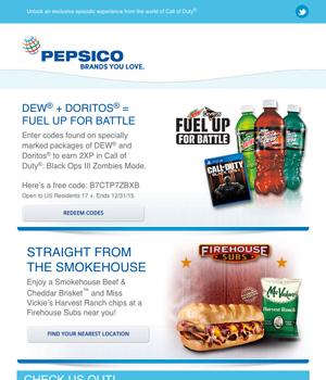 Pepsico Newsletter
