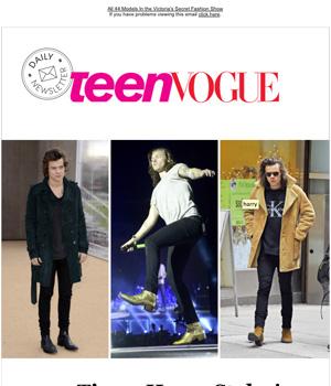 Teen Vogue Newsletter