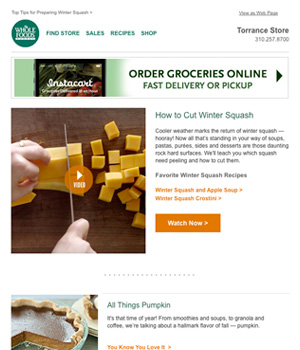 Whole Foods Newsletter