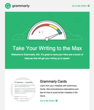 Grammarly Newsletter