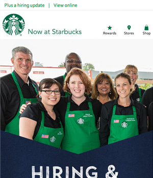 Starbucks Newsletter