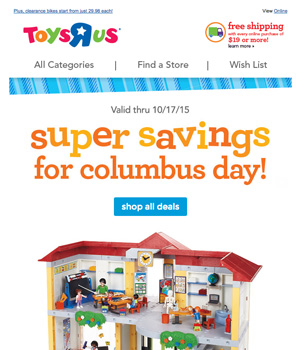 Toys R Us Newsletter