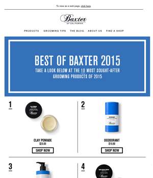 Baxter Newsletter