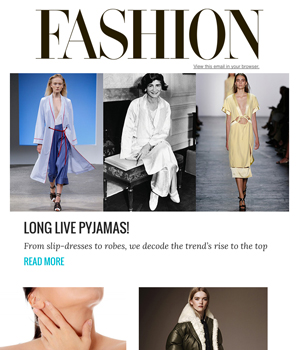 Fashion Magazine Newsletter