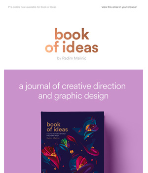 Book of Ideas Newsletter