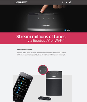 Bose Newsletter