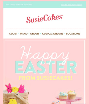 Susie Cakes Newsletter