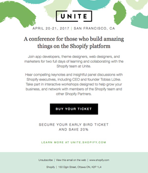 United Newsletter by Shopify