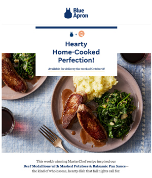Blue Apron Newsletter